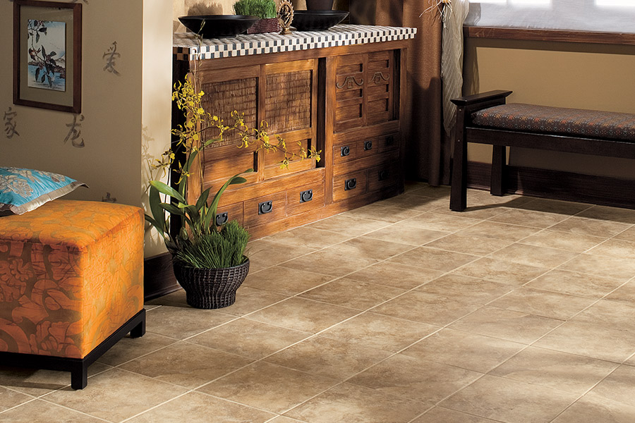 Rich natural stone flooring in Winter Garden FL from All Floors of Orlando