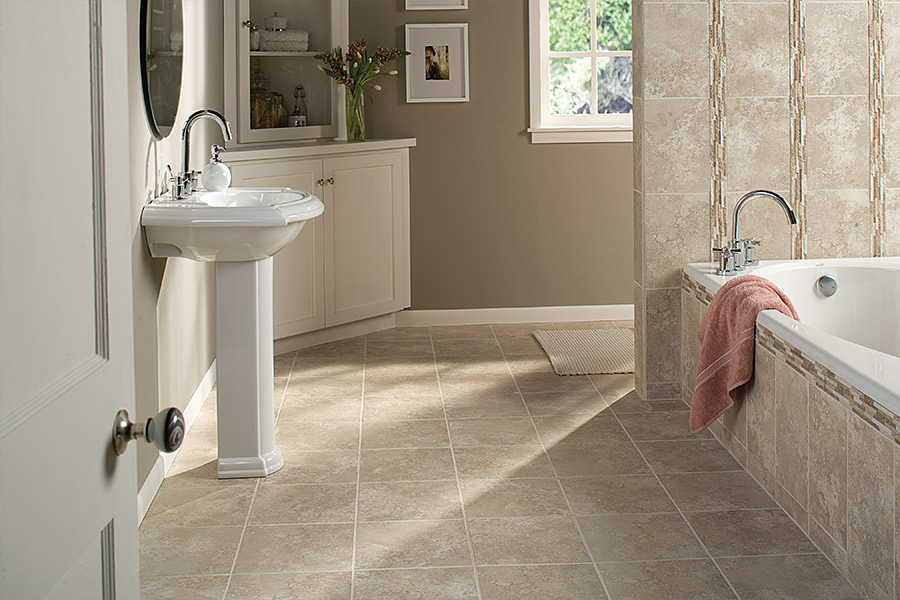 Rich natural stone flooring in Bellaire, TX from Petra Flooring & Blinds