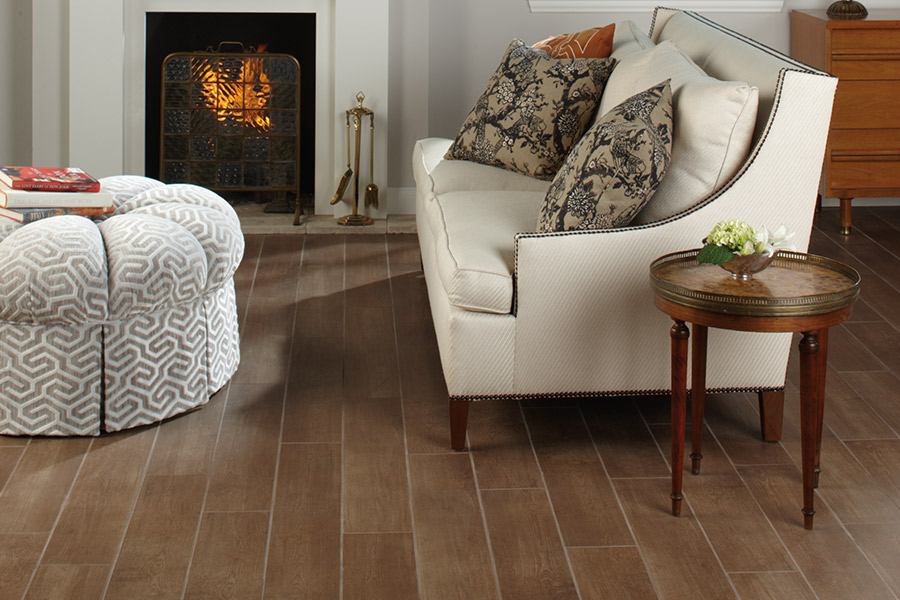 Wood look tile flooring in Smithville, TN from L&M Floors