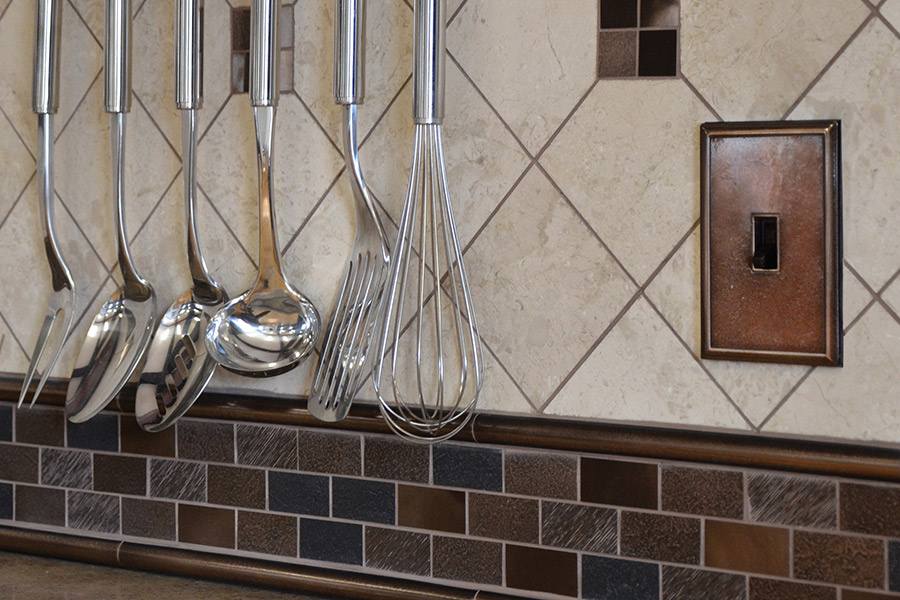 Glass tile in Galveston, TX from Baytown Floors