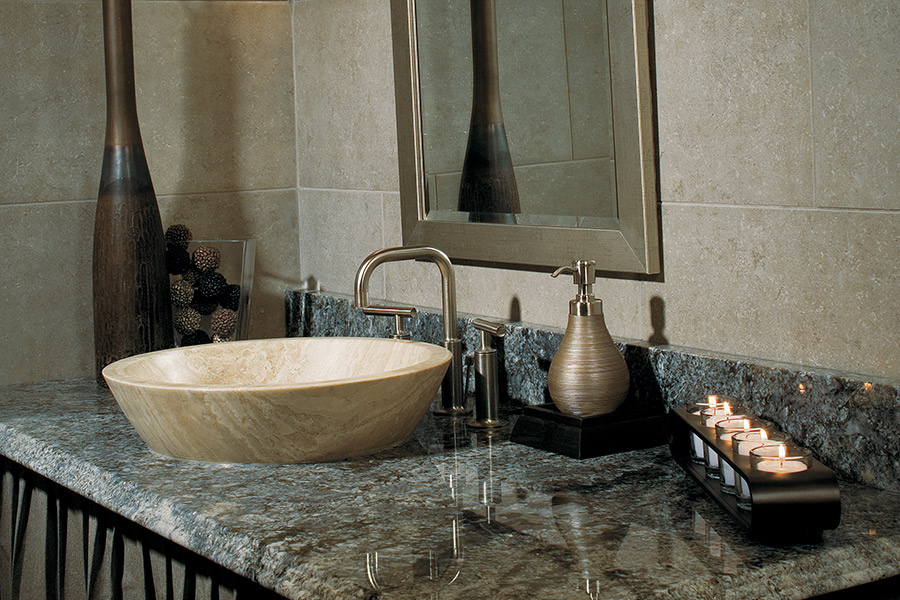 Granite countertops from Finishers Unlimited in Trenton, MI