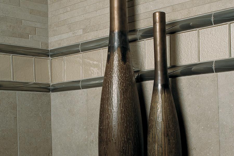 Custom tile backsplash in Los Lunas, NM from Stonewood Flooring