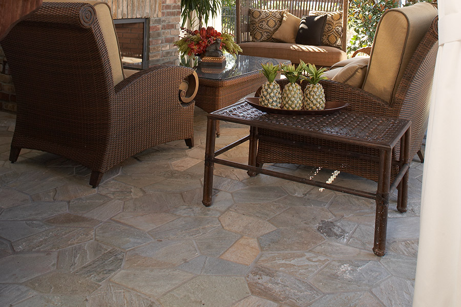 Custom stone flooring in Riverside, CA from Orion Flooring Inc
