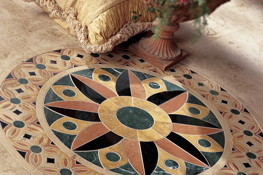 The Orange, TX area's best tile flooring store is Odile's Fine Flooring & Design