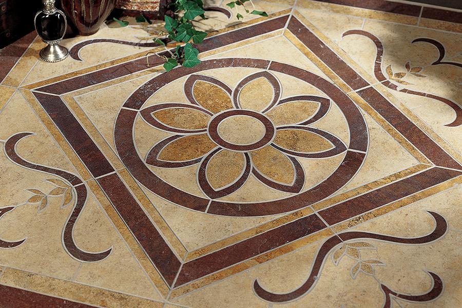 Tile floor installation in Azle, TX from Texas Designer Flooring