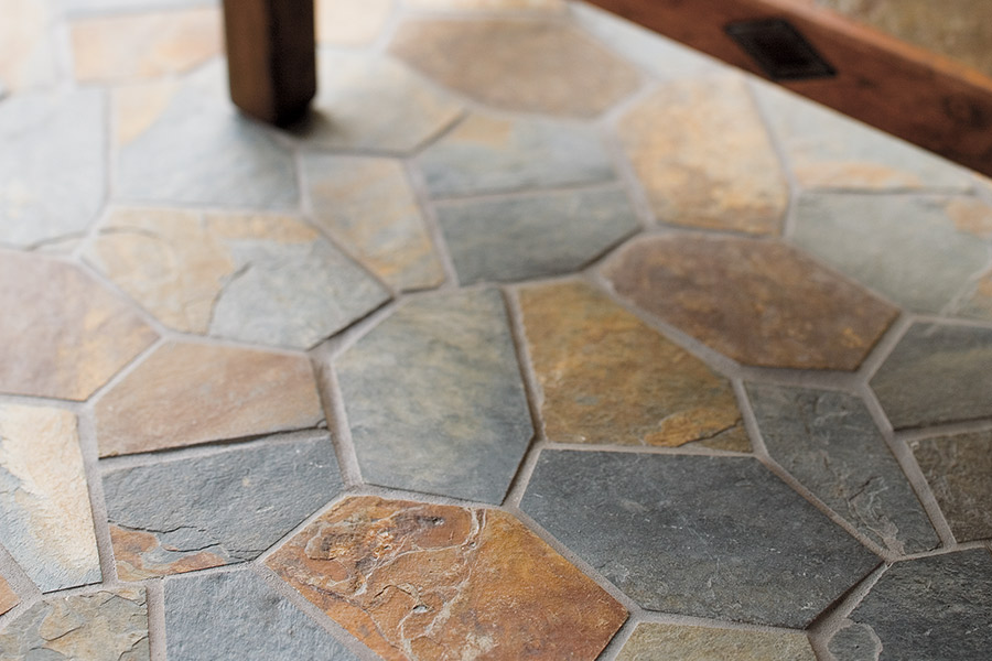 Modern natural stone flooring in Bronx, NY from Italian Tile Imports