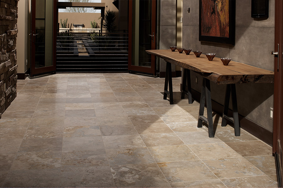 Natural stone floors in Woodinville, WA from Fantastic Floors