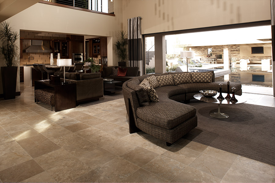 Family friendly tile flooring in Lake Mills, WI from JM Carpets Flooring Design Center