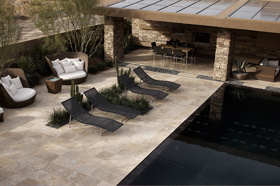 Natural stone floors in Wellington, FL from Floor Specialists