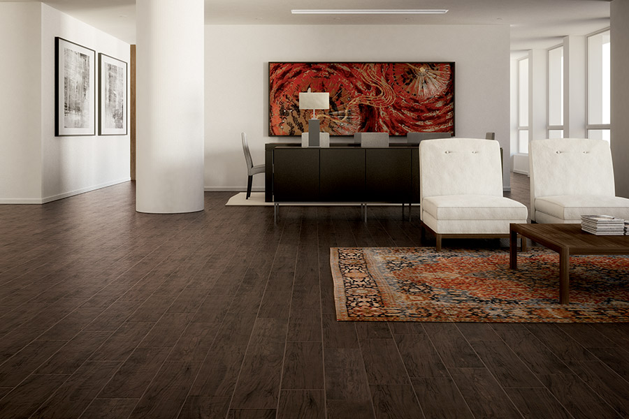 Wood look tile flooring in Gardnerville, NV from Tile Outlet