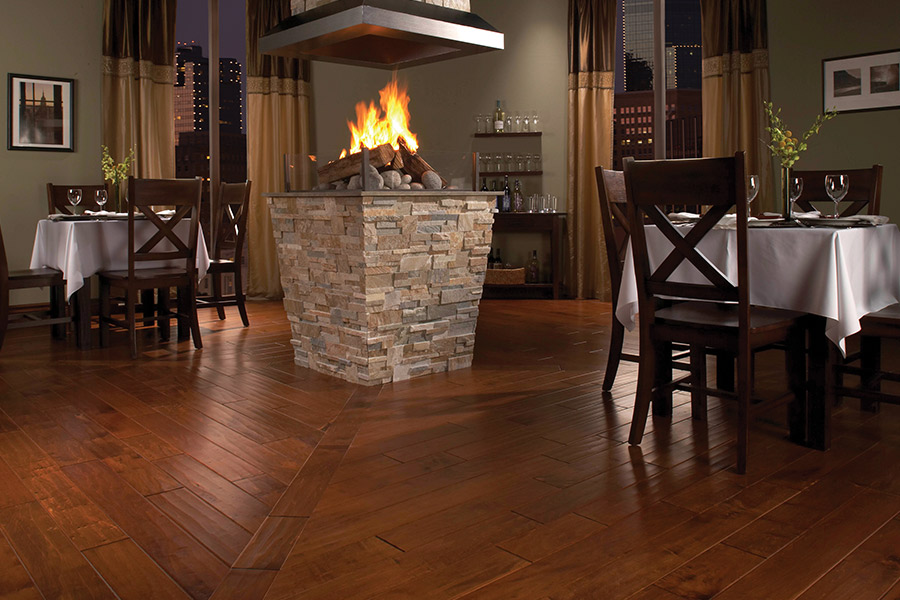 Wood look tile flooring in Albia, IA from Richwell Carpet & Cabinets