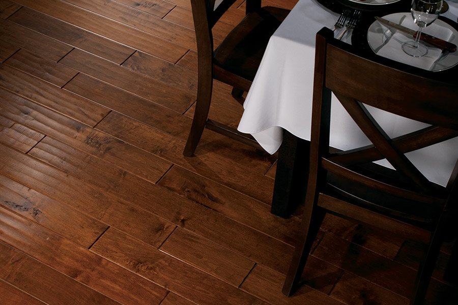 Wood look tile flooring in Stoughton, WI from Walgenmeyer's Carpet & Tile