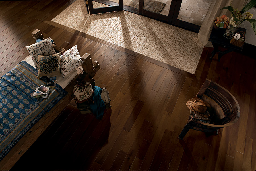 Wood look tile flooring in Covington, KY from JP Flooring Design Center