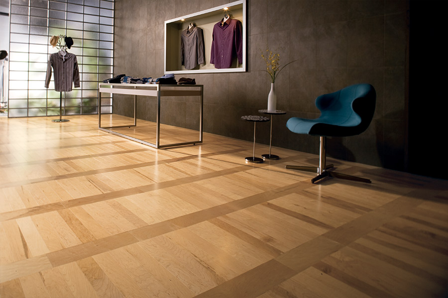 Wood look tile flooring in Fallbrook, CA from Precision Flooring