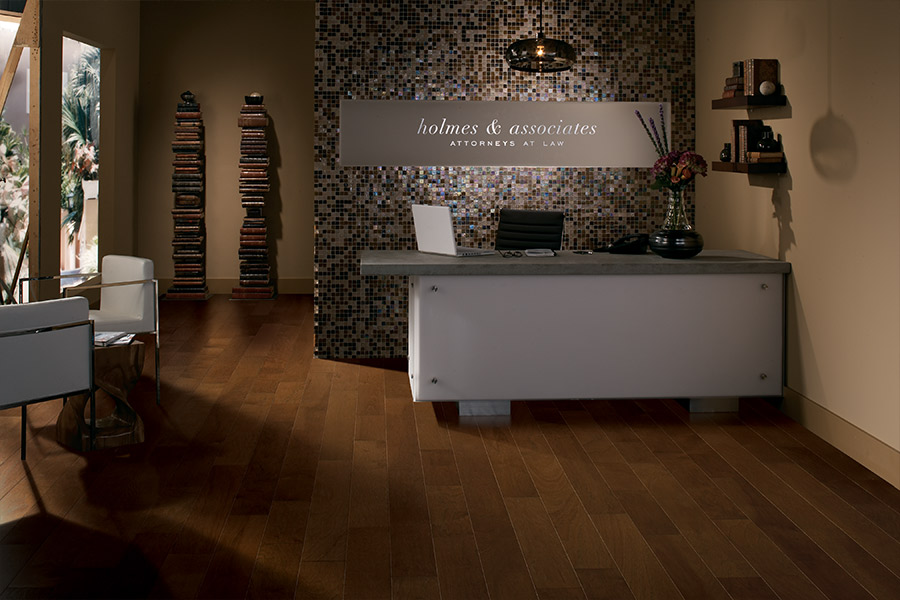 Wood look tile flooring in Longport, NJ from The Flooring Gallery