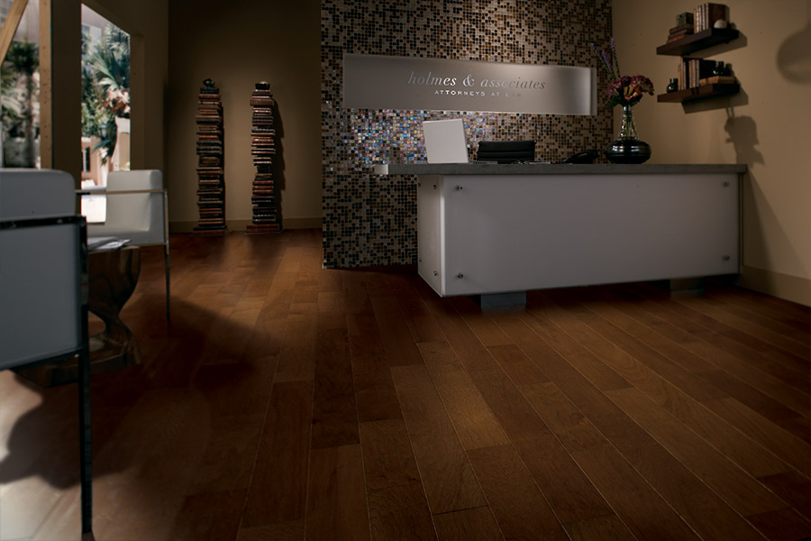 Wood look tile flooring in Hamilton County, IN from The Carpet Man