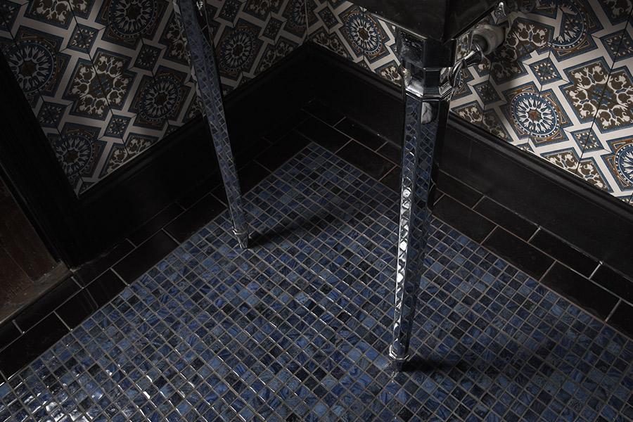 Custom tile backsplash in Port Neches, TX from Odile's Fine Flooring & Design