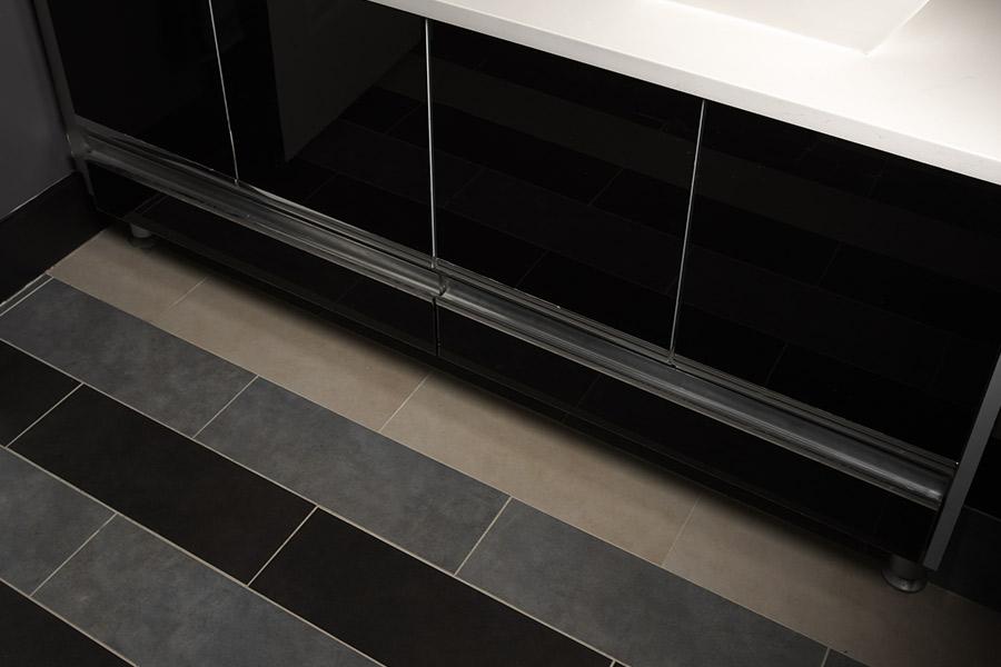 Wood look tile flooring in Bedford County, VA from The Floor Source