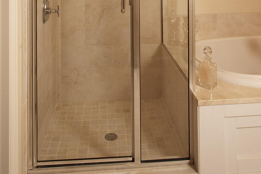 Custom tile bathrooms in Westlake, OH from WestBay Floor Source