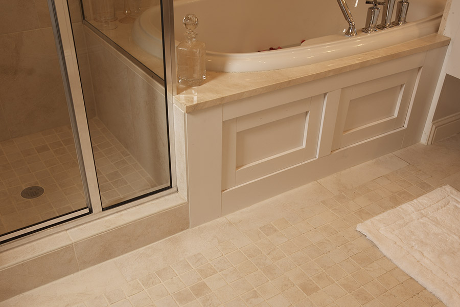 Wood look tile flooring in Richmond, MI from Richmond Interiors