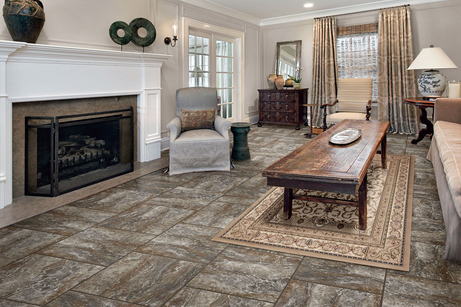 Luxury vinyl flooring in Eddyville KY from Coal Field Flooring