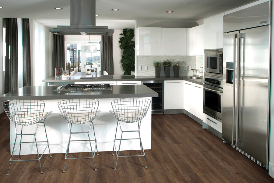 Modern vinyl flooring in Rye NY from Kanter's Carpet & Design Center
