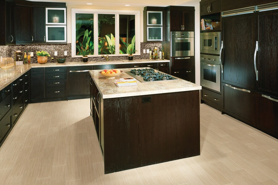 Rich natural stone flooring in Haines City FL from Burns Flooring & Kitchen Design