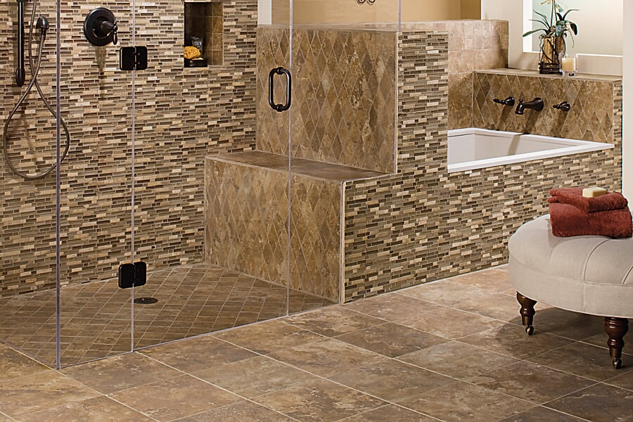 The Folsom and Granite Bay CA area's best glass tile store is Designing Dreams Flooring & Remodeling