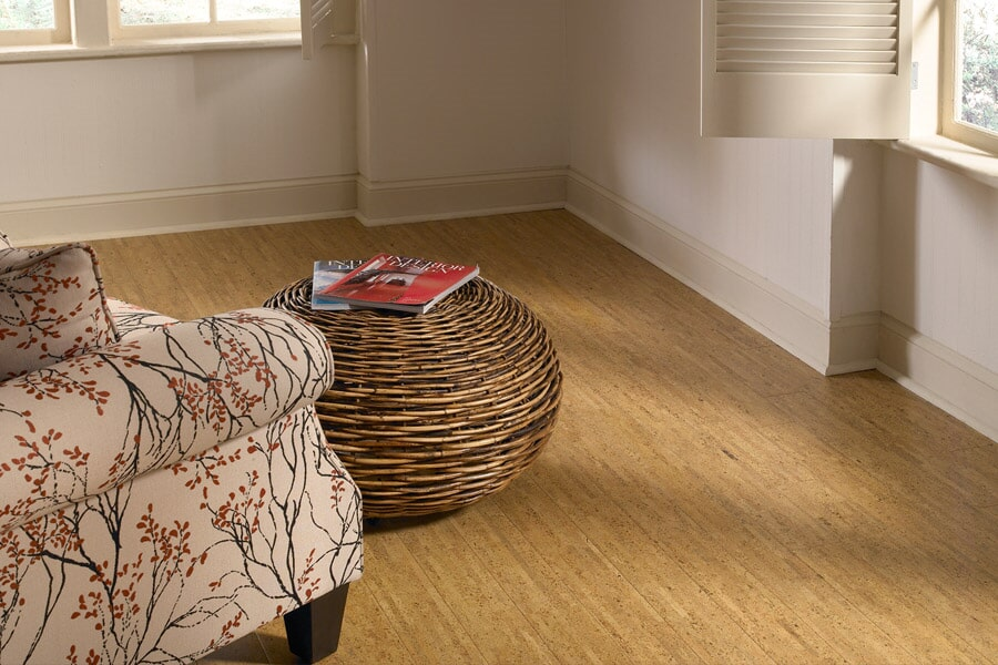 Cork flooring in Corona Del Mar CA from Avalon Wood Flooring