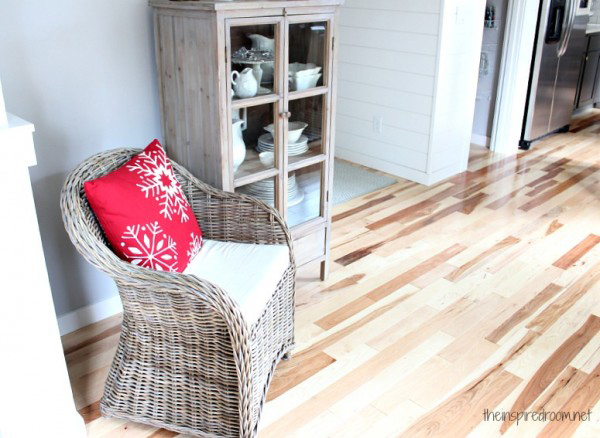 Hardwood Floors Kitchen Makeover