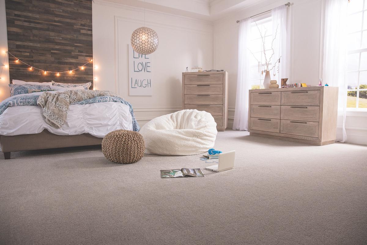 Flooring in the bedroom