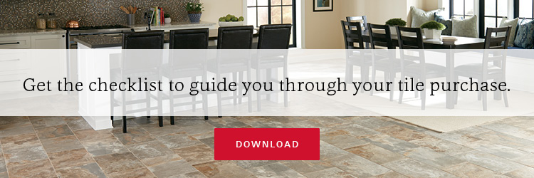 Everything you need to know before you buy tile