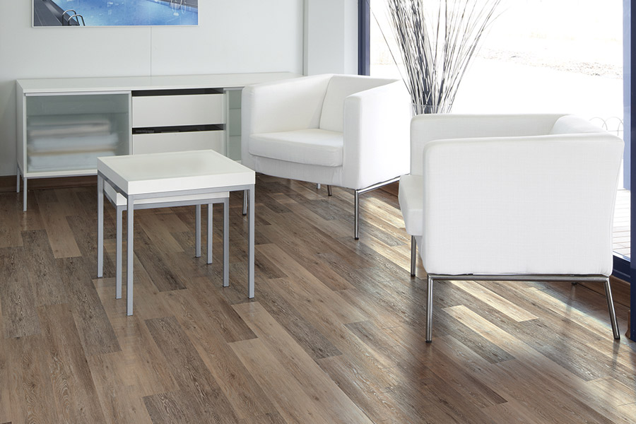 Wood look vinyl sheet flooring in Hartford, CT from Floor Decor