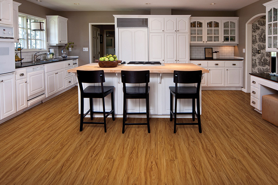 Wood look vinyl sheet flooring in Ormond Beach, FL from McAlister Flooring