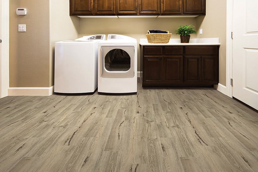 Wood look waterproof flooring in Clark County, NV from Stock House