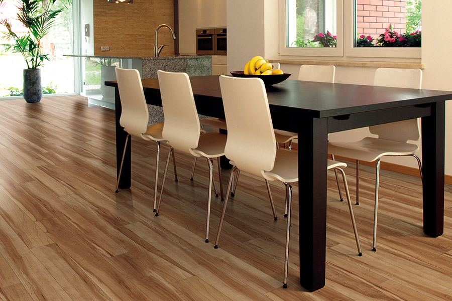 Wood look waterproof flooring in Indio CA from Carpet Empire Plus