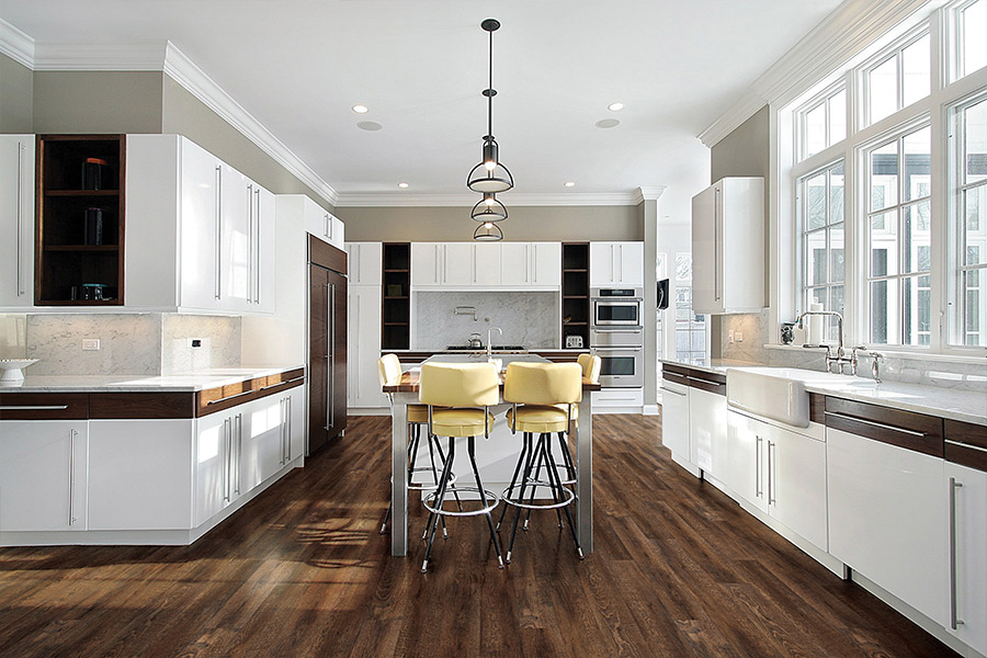Modern vinyl flooring in Hershey, PA from Harrisburg Wall & Flooring