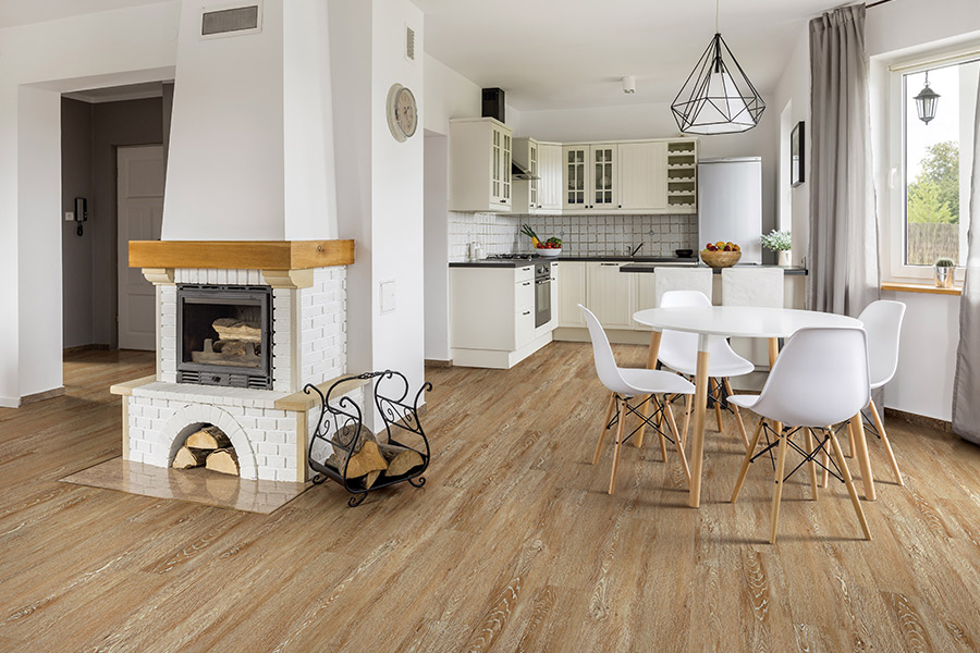 Modern vinyl flooring in Neenah, WI from FloorQuest