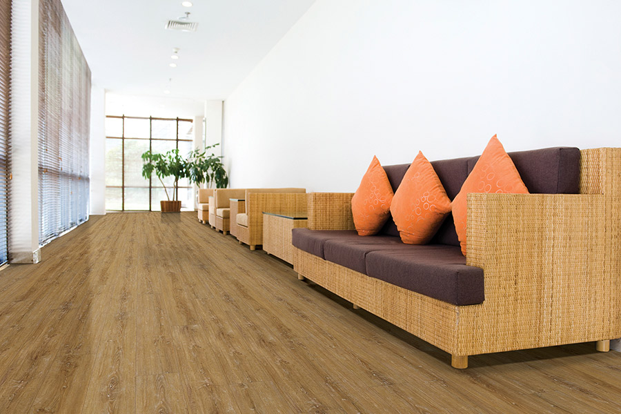 Wood look waterproof flooring in San Francisco, CA from Peacock Floors