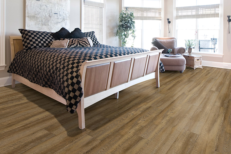 Wood look waterproof flooring in Brookline, MA from Elfman's Flooring