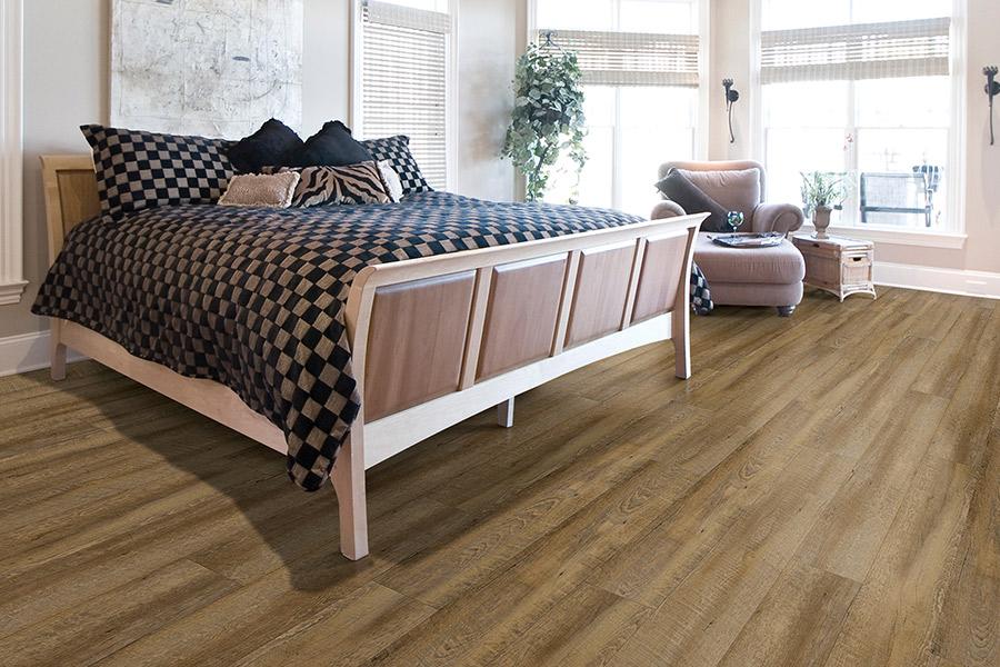 Wood look waterproof flooring in Brookline, MA from Elfman's Flooring