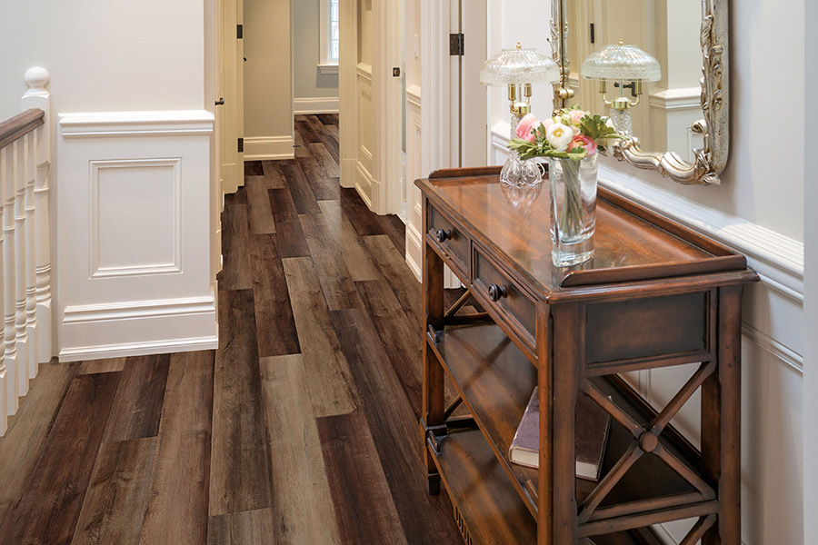 The  area's best waterproof flooring store is FloorOne