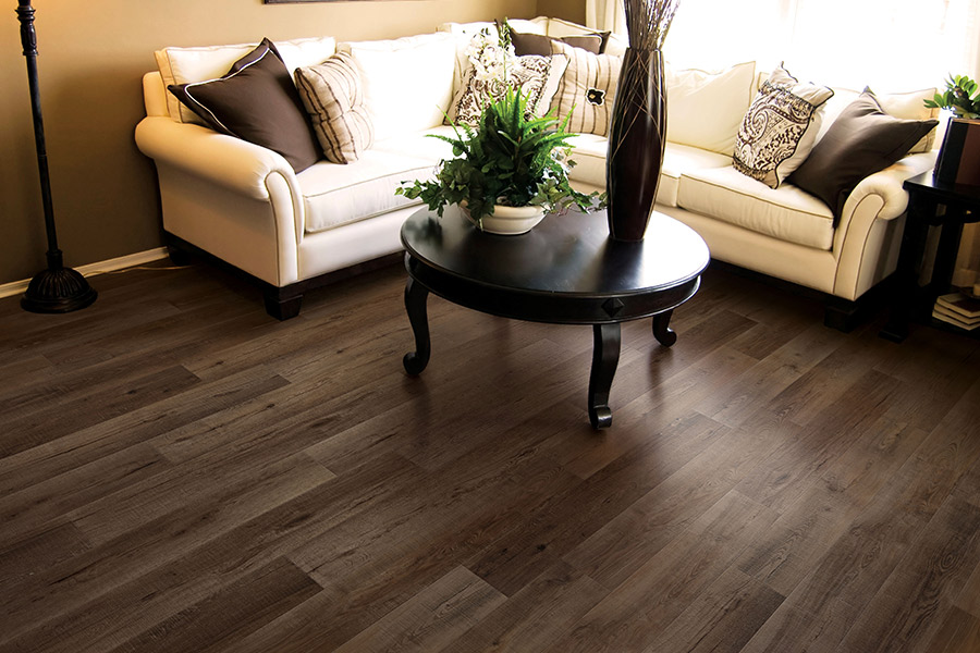 Wood look waterproof flooring in Roseville, CA from Heirloom Flooring