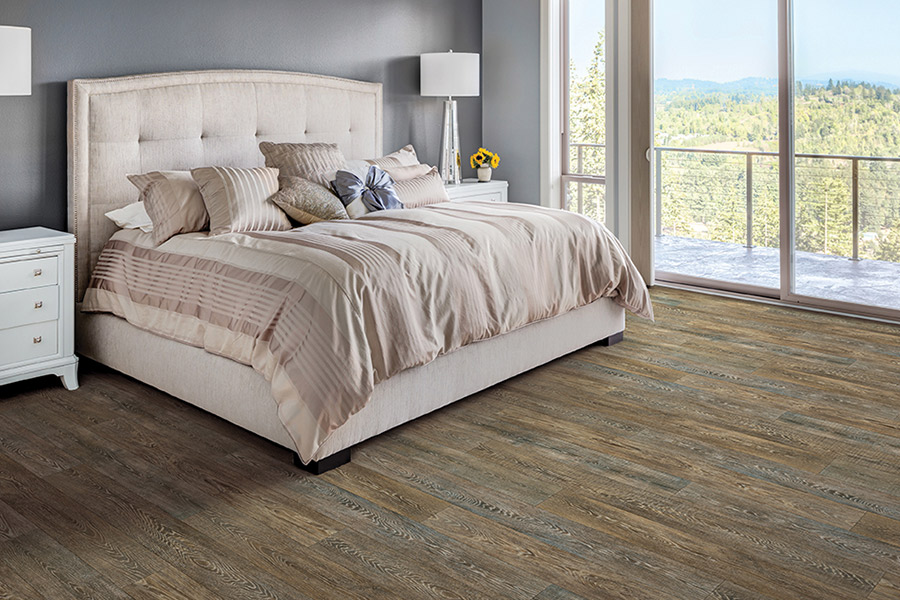 Wood look waterproof flooring in nationwide from FloorOne