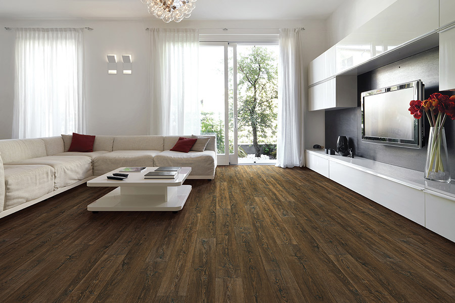 Wood look waterproof flooring in Aiea HI from American Carpet One Floor & Home