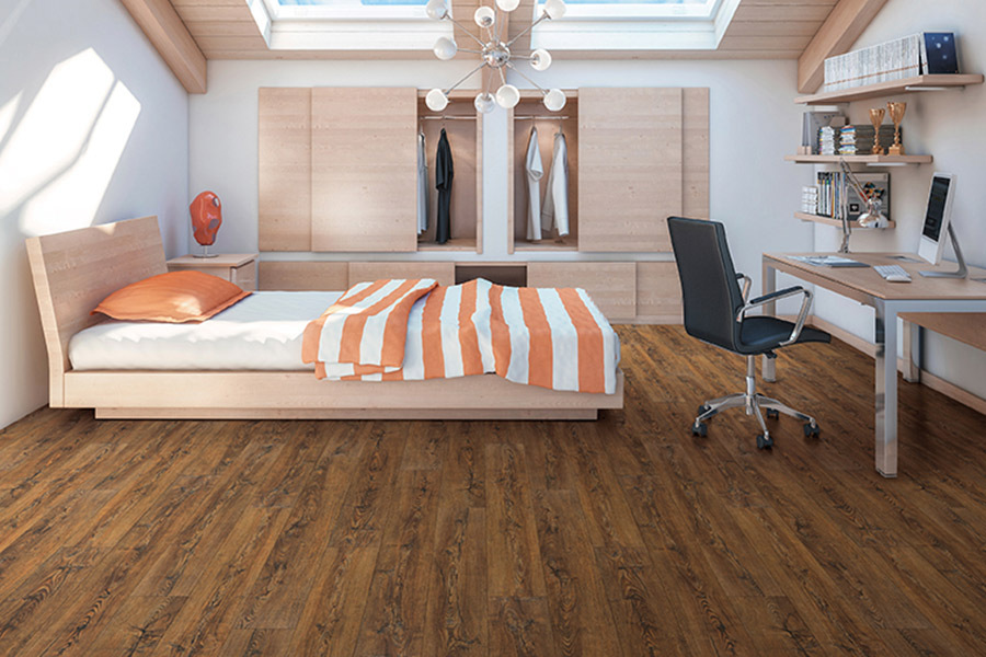 Wood look vinyl sheet flooring in Waukesha, WI from FloorQuest