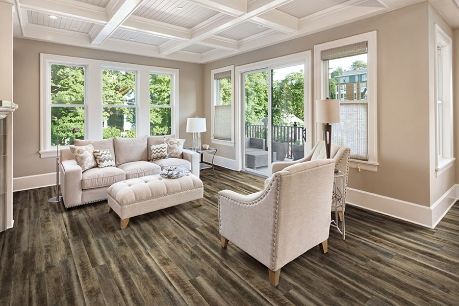 Wood look waterproof flooring in City, State from Watertown Floor Covering, LLC