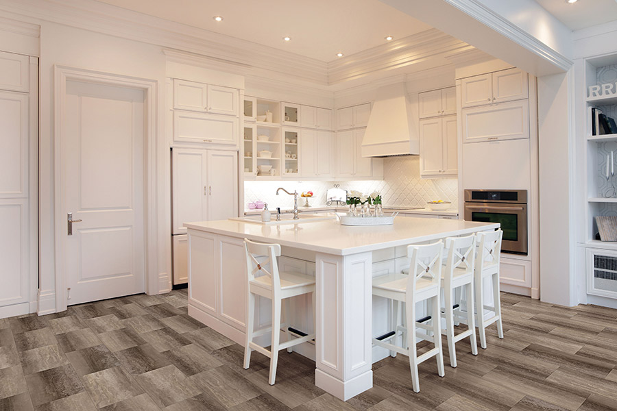 Wood look luxury vinyl plank flooring in La Jolla, CA from Bergens Hardwood Flooring