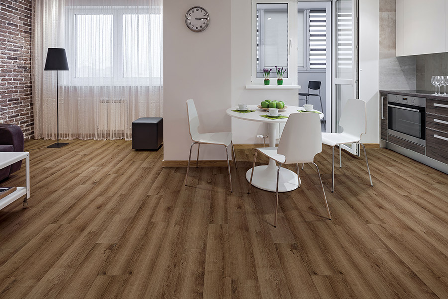 Wood look SPC flooring in West Palm Beach, FL from NCF Distributors