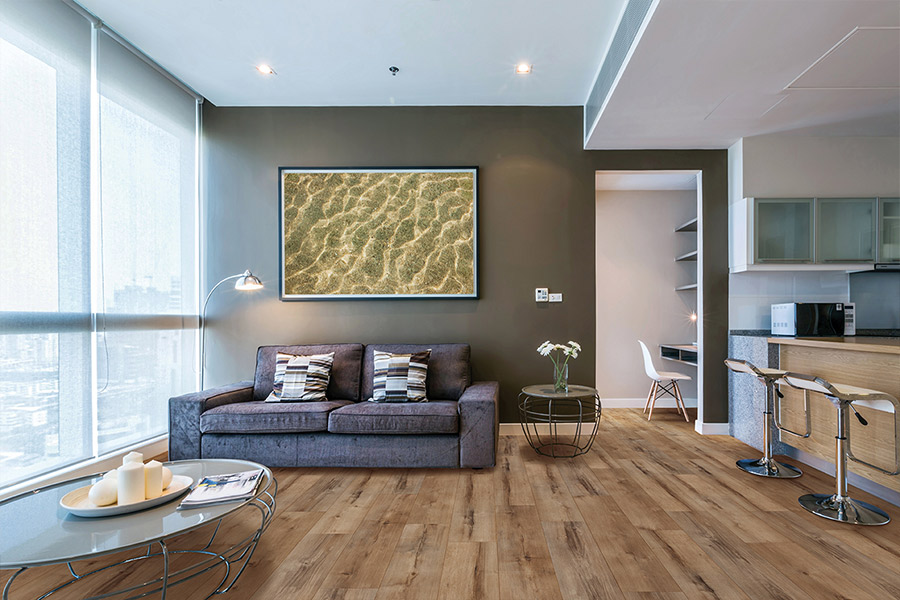 Wood look waterproof flooring in Etters, PA from Couch Potato Carpet & Flooring
